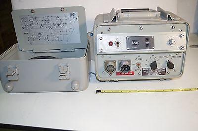 Synchro Angle Indicator Servo Portable 115vac 400hz. 0-360 Degrees