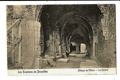 CPA - Carte Postale -Belgique-Villers la ville- Le cloître de l'abbaye  en 1905-