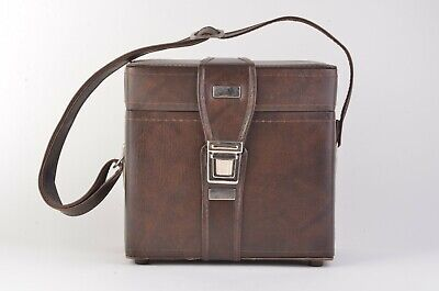 EXC++ VINTAGE CLASSIC 1970s LEATHERETTE CAMERA CASE w/STRAP, CLEAN ~9.5