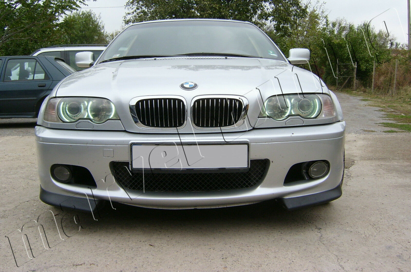 bmw e46 3 series m tech m sport front bumper splitter spoiler picclick uk. Black Bedroom Furniture Sets. Home Design Ideas