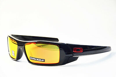 Oakley Gascan OO 9014 4460 Black prizm ruby Neu Kunststoff Sonnenbrille