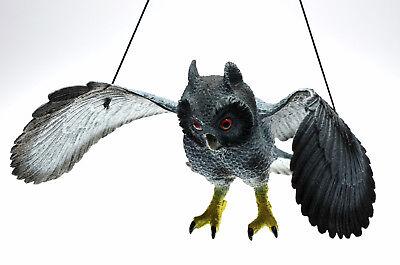 Vogelschreck 56 cm ! Taubenschreck Taubenabwehr Eule Vogelscheuche Vogelabwehr