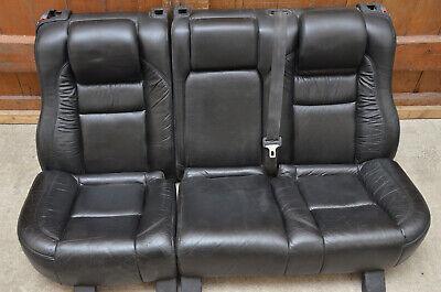 Volvo 940 960 ab 93 Ledersitz Rücksitzbank schwarz mit Kindersitz gebraucht kaufen  Löhne