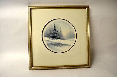 December Dawn by Arnold Alaniz - Signed & Numbered Print 154/350 Framed COA Rare