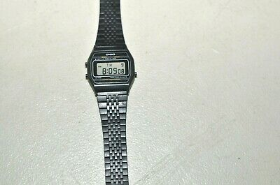 Casio A160 Digital Watch Module 415 Japan