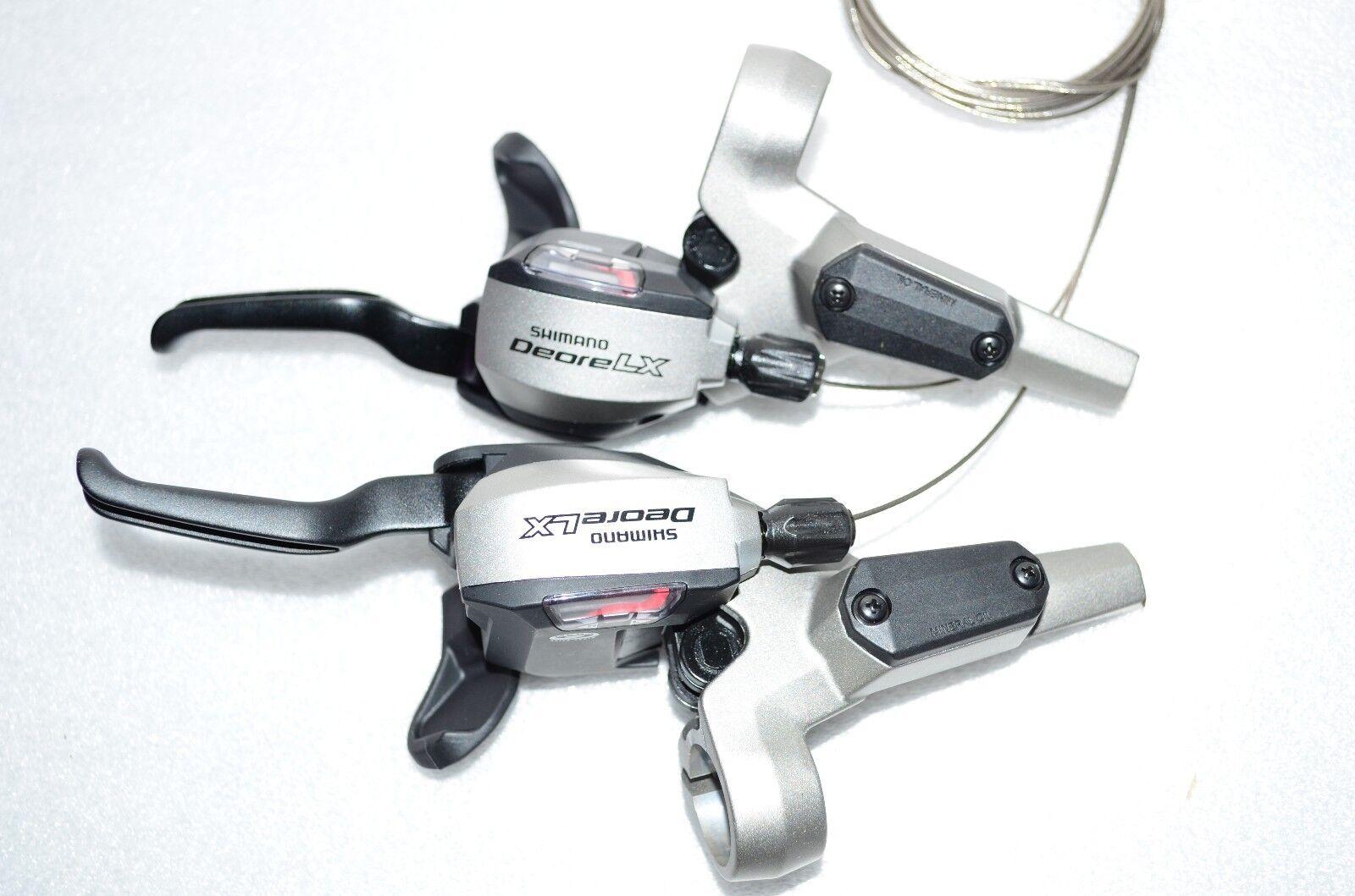 Shimano Deore LX Dual ST-M585 Shifter Brake lever Set Disc 3
