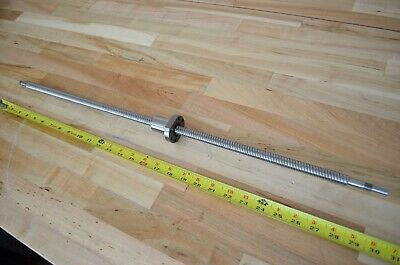 New Hiwin S140a6f X756mm Precision Rolled Ballscrew 15mm Dia. - Thk Cnc Router