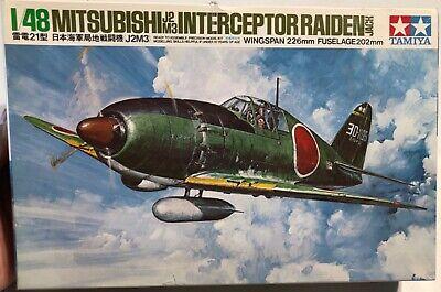 Tamiya Mitsubishi J2M3 Interceptor Raiden Jack 1/48 Open 'Sullys Hobbies'