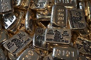 1 oz Hand Pour Silver Bar STACKERS MINT Series