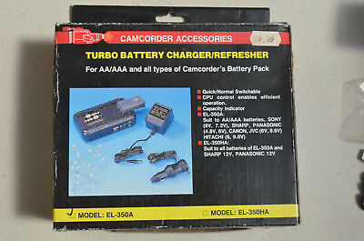 Turbo Battery Charger and Refresher Model EL-350A suitable for the list models