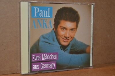 PAUL ANKA: ZWEI MACDCHEN AUS GERMANY (TWO GIRLS FROM GERMANY) MINT- IMPORT CD