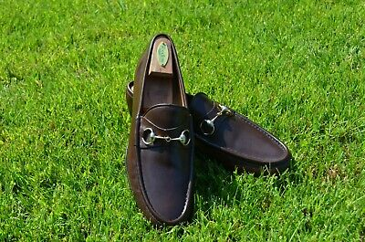 Vintage Gucci Horsebit Loafers - Brown, Size 46.5 (US 12.5)