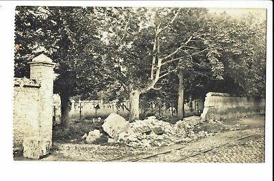 CPA-Carte postale-Belgique -Veurne - Furnes -Bombardement du Cimetière-1920