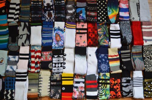 Lot of 10 Stance Mens Crew Socks Size Large L, Grade B Socks