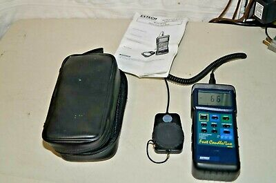 Extech 407026 Foot Candlelux Heavy Duty Light Meter