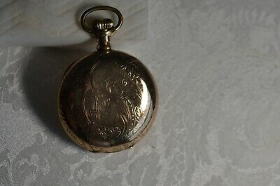J.P. Stevens & Bros. High Grade Swiss Pocket Watch, Vacheron? Patek? 16s Hunt Cs