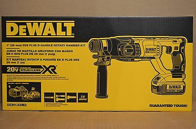 Brand New Dewalt Dch133m2 20v Max Xr Brushless 1 D-handle Rotary Hammer Kit