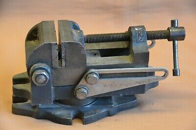 Vintage Sears Craftsman 2-12 Adjustable Angle Rotating Drill Press Vise 5025-