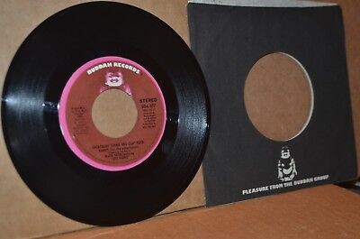 BLACK SATIN WITH FRED PARRIS: EVERYBODY STAND AND CLAP YOUR HANDS MINT- PROMO 45
