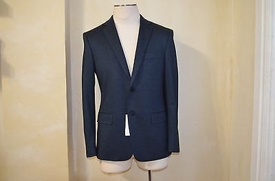 VERSACE COLLECTION DARK BLUE COTTON CASUAL DRESS CASUAL JACKET BLAZER S 48 38