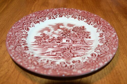 """W.H. GRINDLEY AND CO. LTD. """"COUNTRY STYLE""""  7""""  PLATE - STAFFORDSHIRE, ENGLAND"""