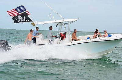 3' Boat Flag Pole for use in rod holders and rocket launchers