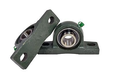 Ucp208-24 1-12 Pillow Block Bearing Unit Solid Base Housing Qty 2