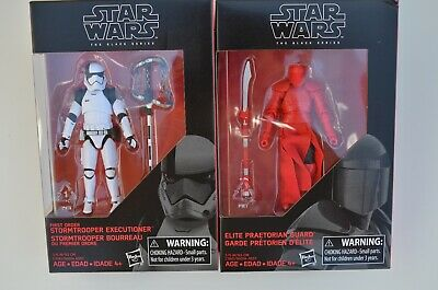 "Star Wars - The Black Series - Elite Praetorian Guard & Stormtrooper - 3.75"""
