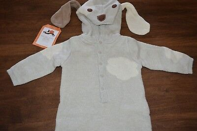 Pottery Barn Kids Baby Knit Puppy Dog Halloween Costume 6-12 Months NEW Cute! - Pottery Barn Baby Halloween Costumes