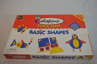 Color Forms Stick-On Basic Shapes No. 78203 1999