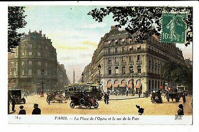 CPA - Carte Postale-FRANCE - Paris- Place de l'Opéra rue de la Paix en 1922?