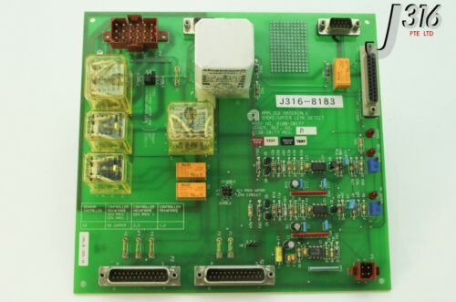 8183 Applied Materials Pcb Smoke/water Leak Detect (0110-20177) 0100-20177