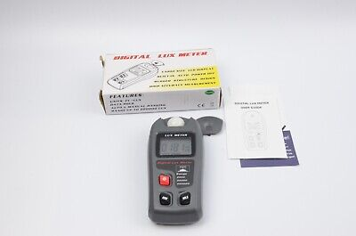 Digital Luxmeter Lcd Light Meter Environmental Testing Meter Tested