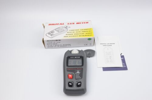 Digital Luxmeter LCD Light Meter Environmental Testing Meter Tested