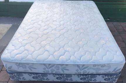 Good Queen Bed base with mattress. Delivery option is available