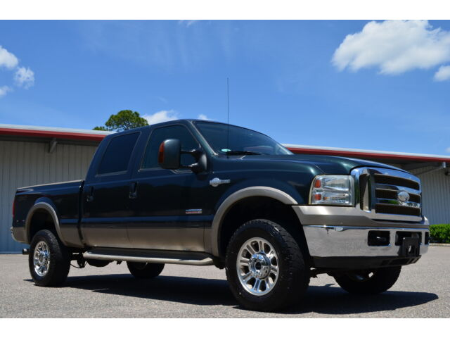 2007 ford f 350 crew cab king ranch 4x4 powerstroke diesel. Black Bedroom Furniture Sets. Home Design Ideas