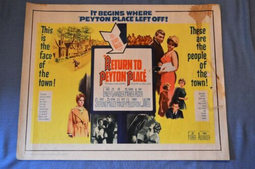 "Vintage Movie Poster, ""Return To Peyton Place"" (1961)"
