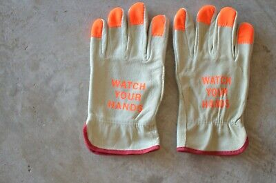 100 Leather Work Gloves Size Small