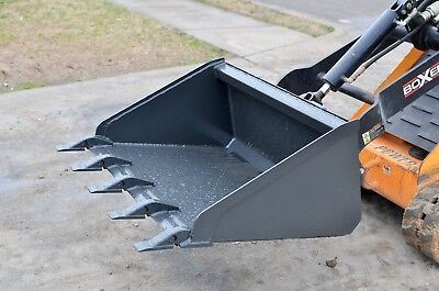Toro Dingo Mini Skid Steer Attachment - 34 Low Pro Tooth Bucket - Ship 179