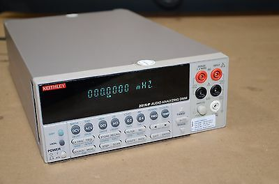 Keithley Audio Analyzer Digital Multimeter Dmm 2015 P 2015 Rebuilt
