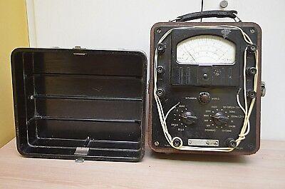 Electrical Tester Soviet Vintage Device M 24-5. 1956. Ussr