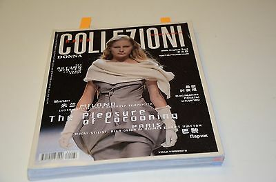 1999 Collezioni Donna Fashion Magazine # 64 Ad Ads Model Clothing