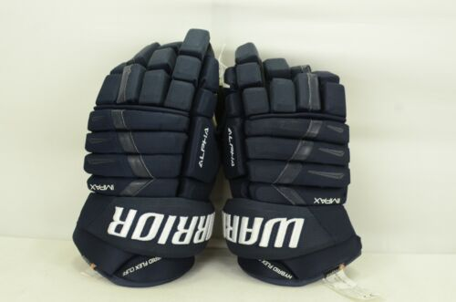 Warrior Alpha Pro Gloves Senior Size 14/15 Navy (0805-0056) MISMATCH