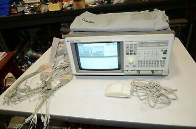 Hp Agilent 1662cs 1662 Logic Analyzer With 4 Pods Manual Mouse