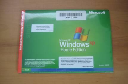 WINDOWS XP HOME SOFTWARE