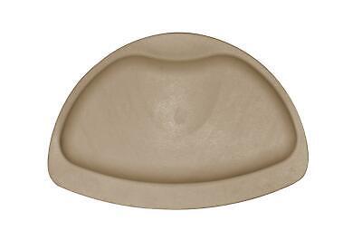 RIDDER Kopfpolster Comfort 20x30 cm beige Nackenpolster Badewannenkissen