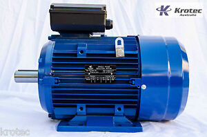 Electric-motor-single-phase-240v-5-5kw-7hp-1460-rpm