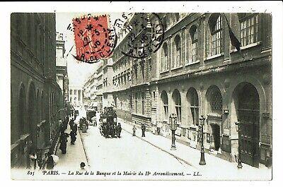 CPA - Carte Postale-FRANCE -Paris  Rue de la Banque en 1906  VM5467