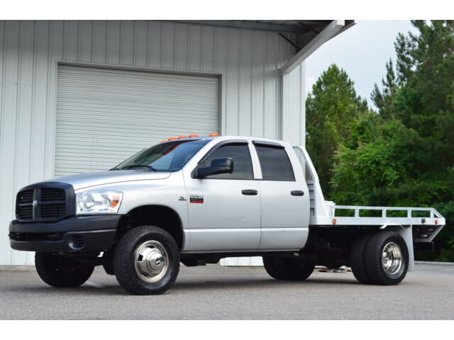 2008 DODGE RAM 3500 DUALLY 6-SPEED QUAD CAB 4X4 CUMMINS DIESEL F-350 3500 RARE