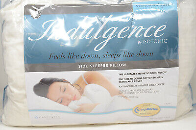 Isotonic® Indulgence™ Synthetic Down Alternative Standard/Queen Side Sleeper Pil